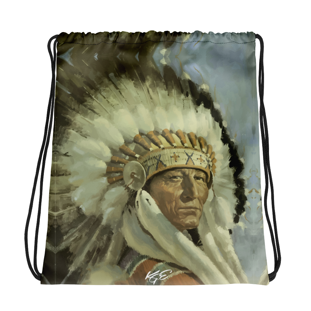 The Doc's Chief Drawstring bag