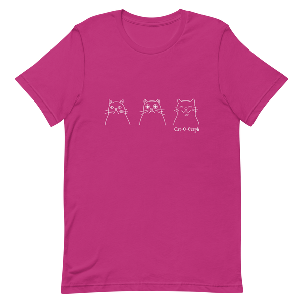 "BELLA + CANVAS - Cat-O-Graph - ""Daily Moods"" Tee"