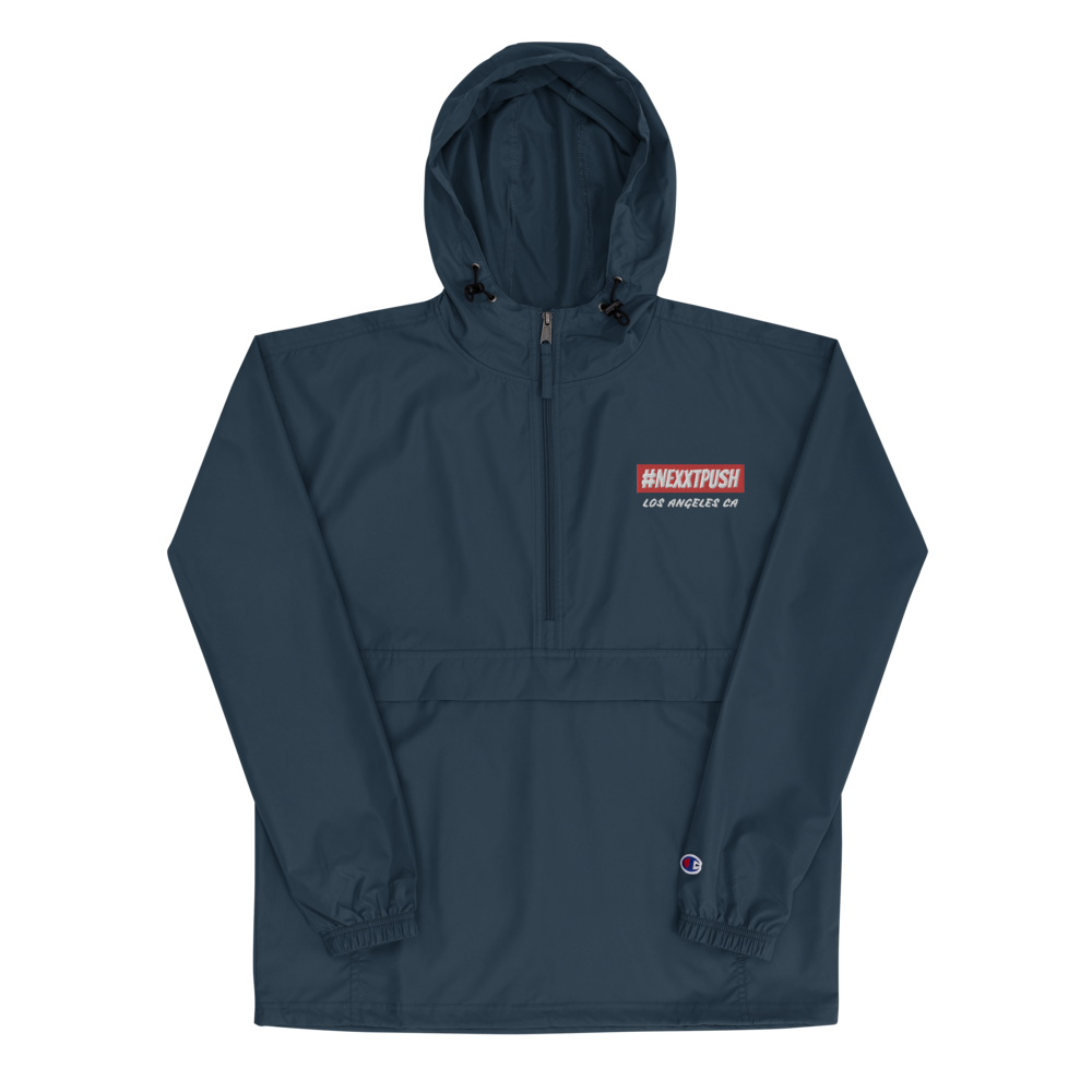 Champion #NEXXTPUSH Embroidered Packable Jacket