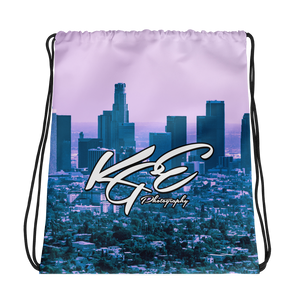 KGEphoto Los Angeles Drawstring bag