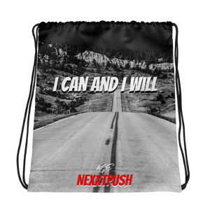 KGE I CAN AND I WILL (NEXXTPUSH) Drawstring bag