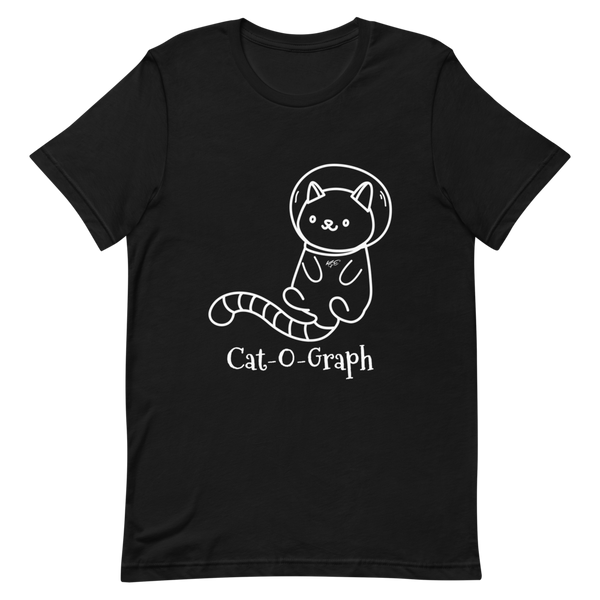 "BELLA + CANVAS - CAT-O-GRAPH - ""Space Kitty"" TEE"
