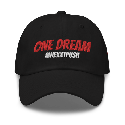 One Dream Gold #NEXXTPUSH - Dad hat