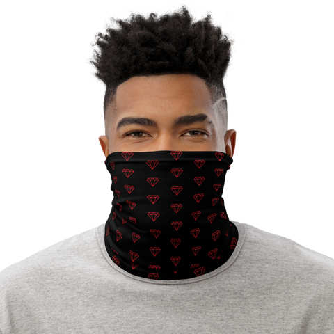 Red Diamond Neck Gaiter (Face Mask)