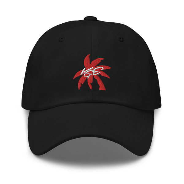 Red Palm Tree KGE Signature Dad hat