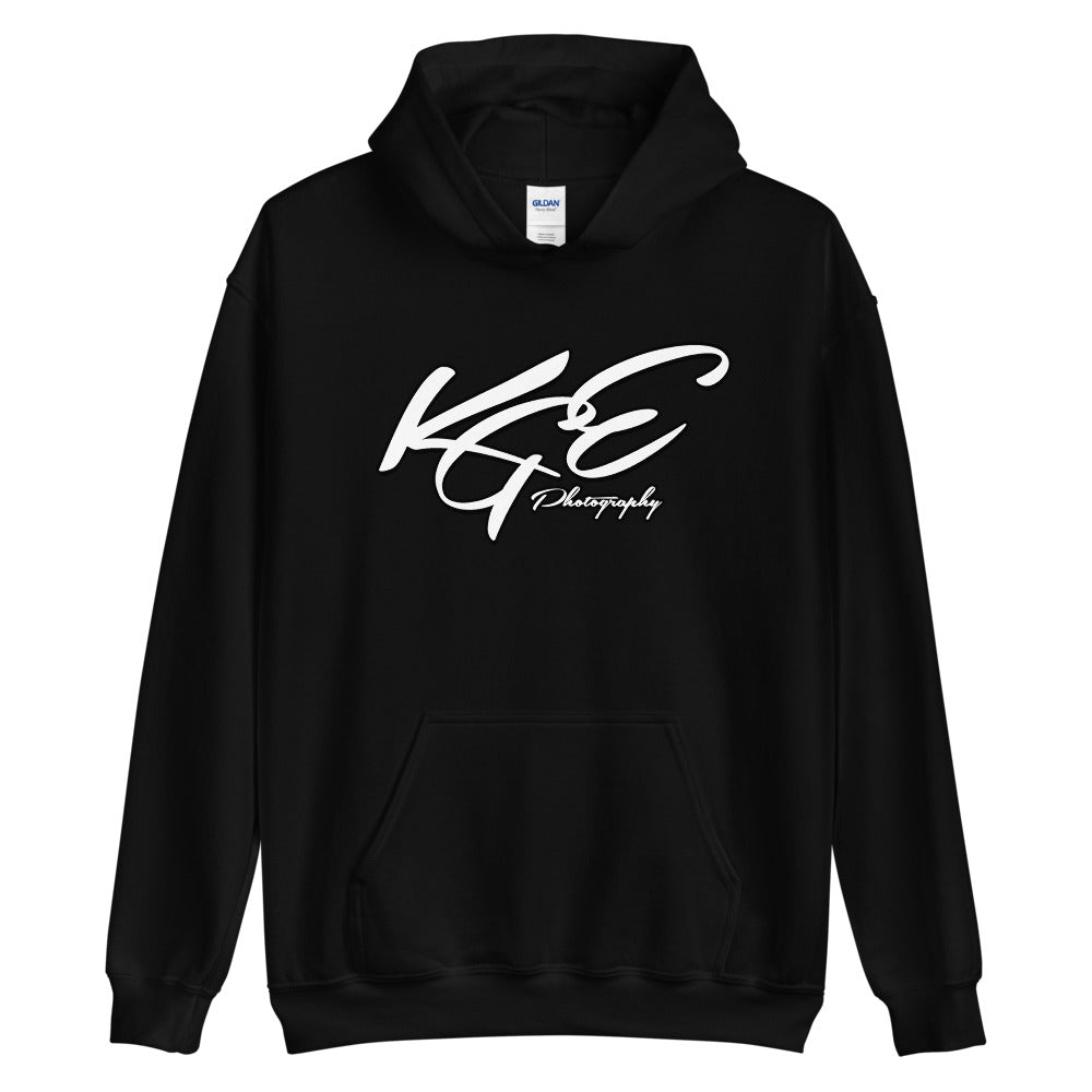 KGE Photography Logo - Original Unisex Hoodie (Sizes S - 5XL)