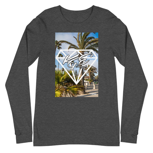(NEW) Bella + Canvas - KGEphoto - Daylight Diamond - Unisex Long Sleeve Tee