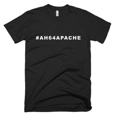 Apache Helicopter Shirt Black