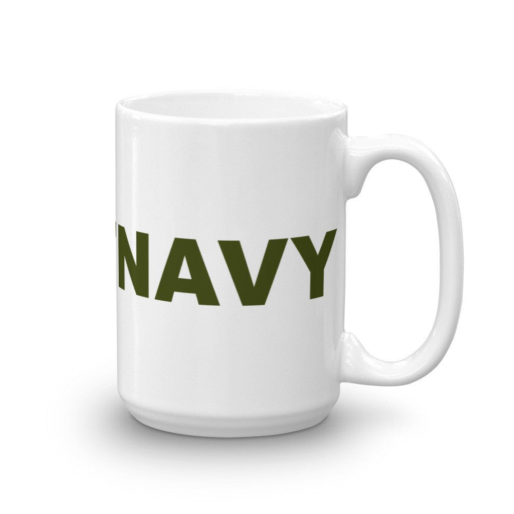 Beat Navy Hashtag Coffee Mug