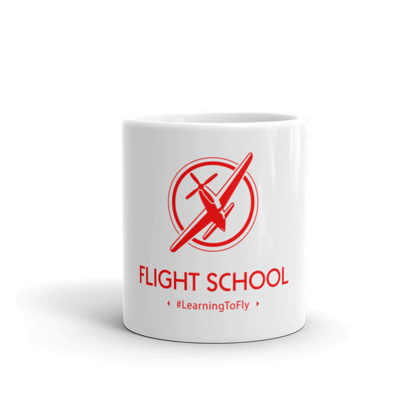Learning to fly hashtag coffee mug