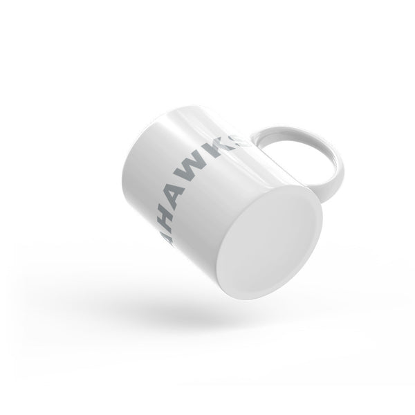 Go Seahawks Football Hashtag Coffee Mug Gray