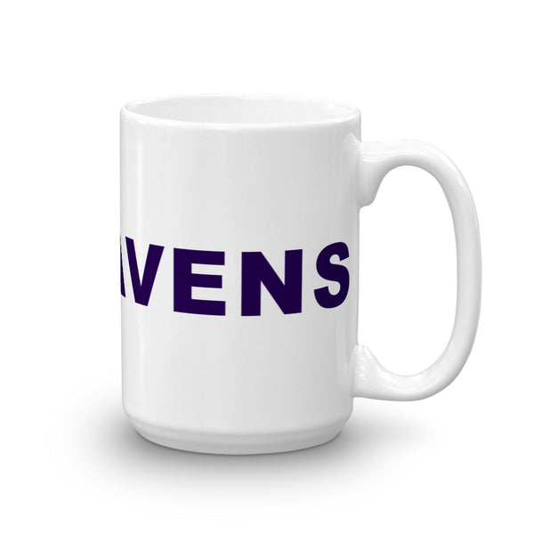 Go Ravens Football Hashtag Coffee Mugg