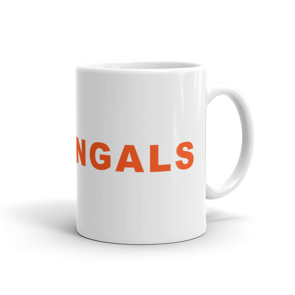 Go Bengals Football Hashtag Coffee Mug