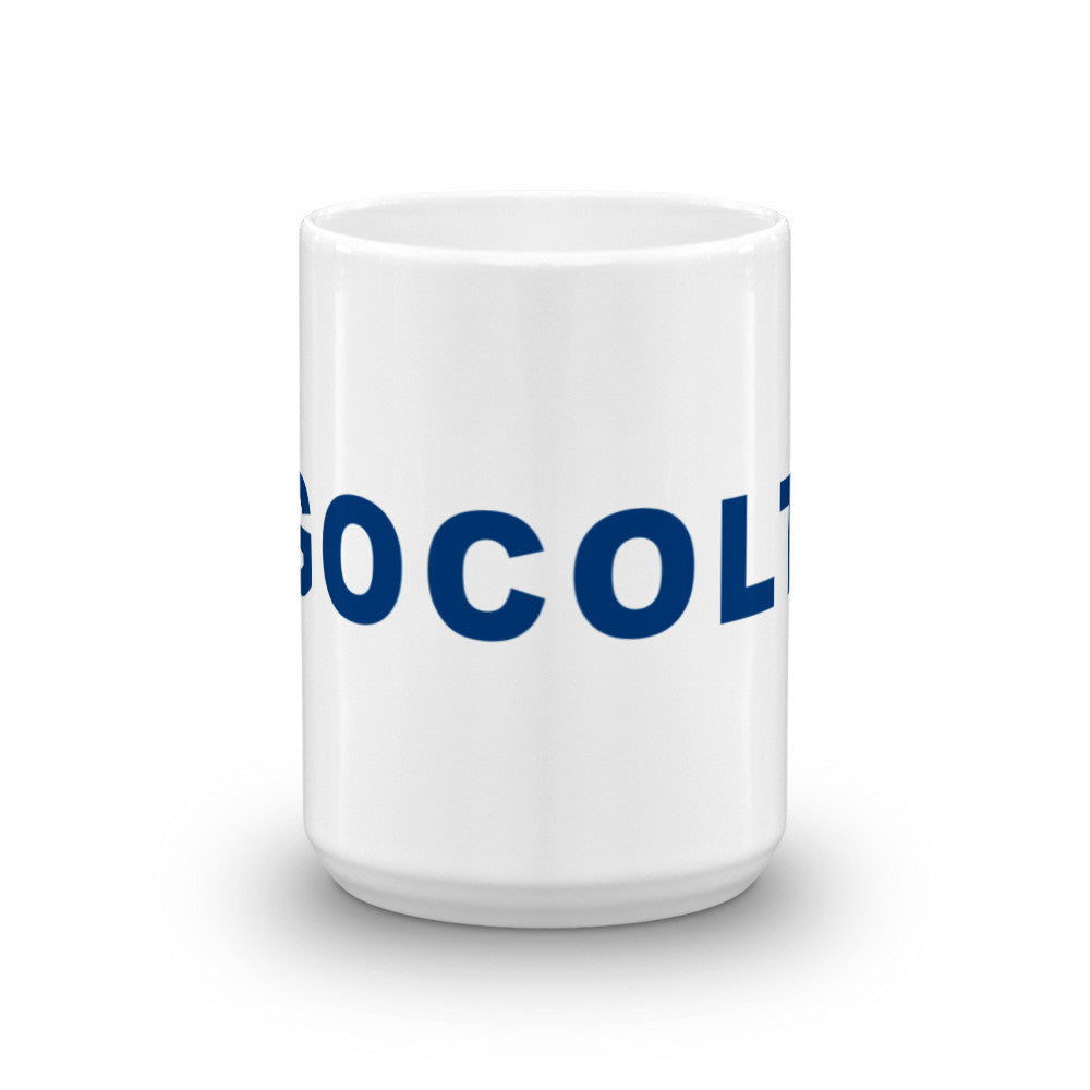 Go Colts Football Hashtag Coffee Mug