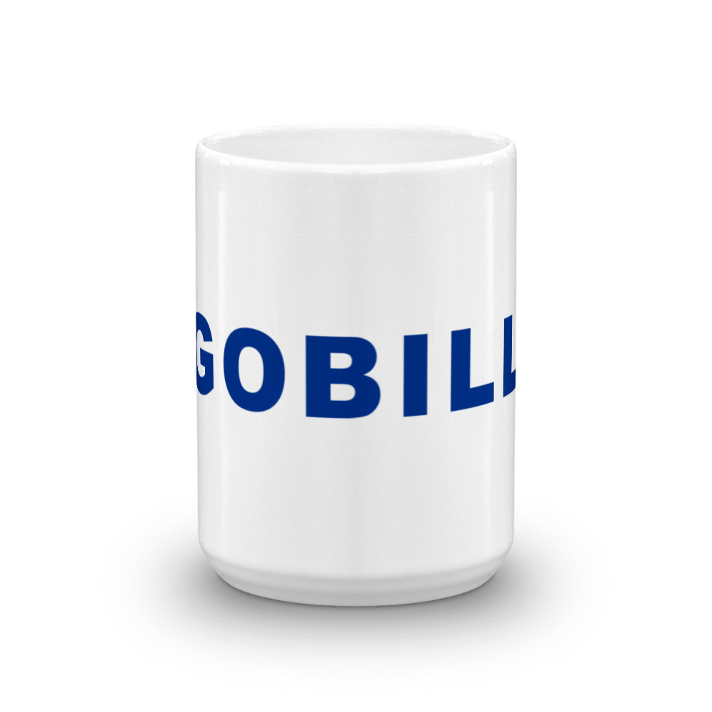 Go Bills Football Hashtag Coffee Mug Blue
