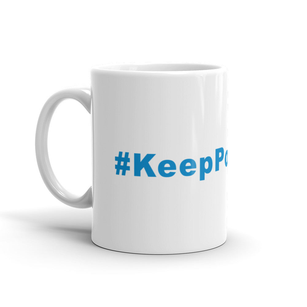 Keep Pounding Panters Football Hashtag Coffee Mug