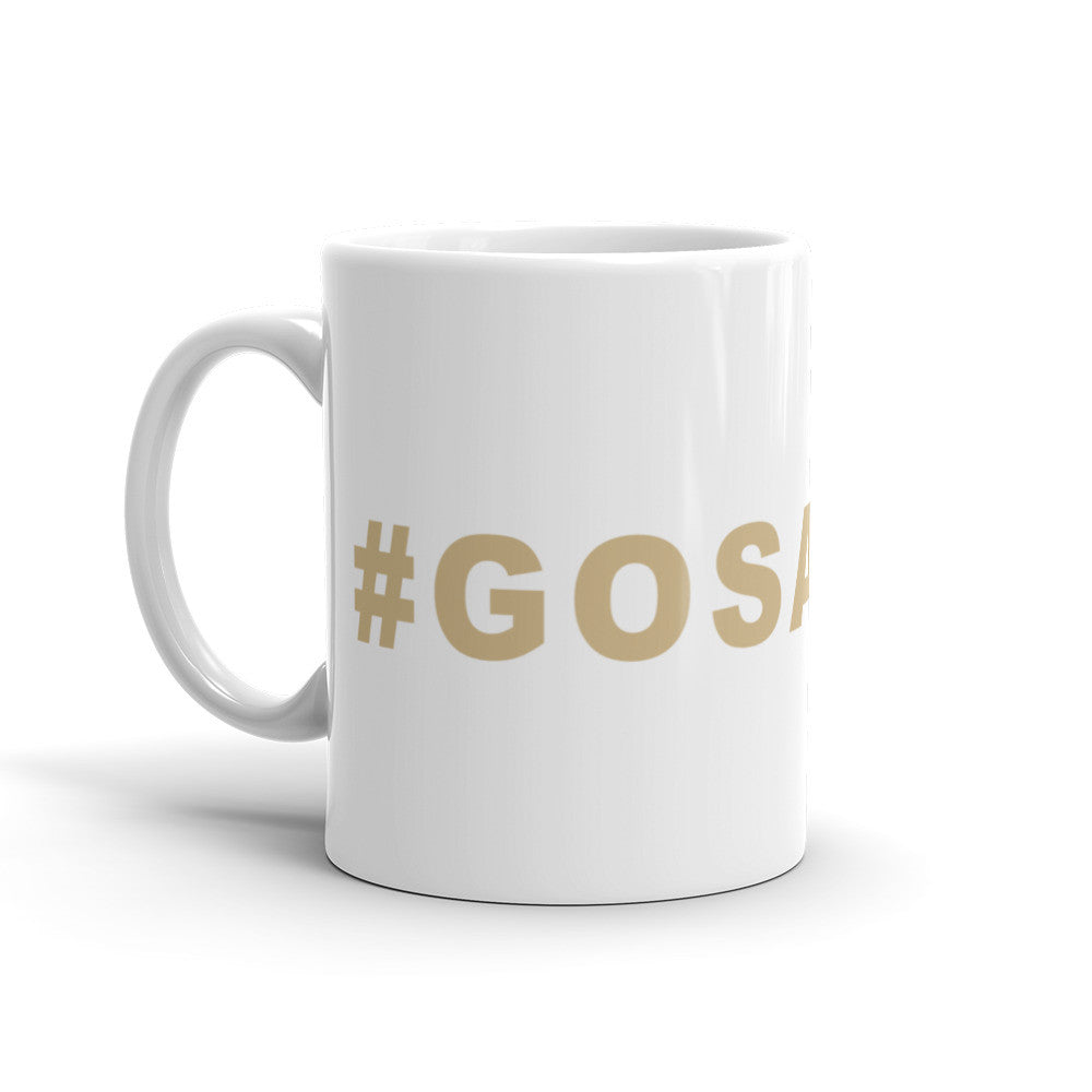 Go Saints Football Hashtag Coffee Mug