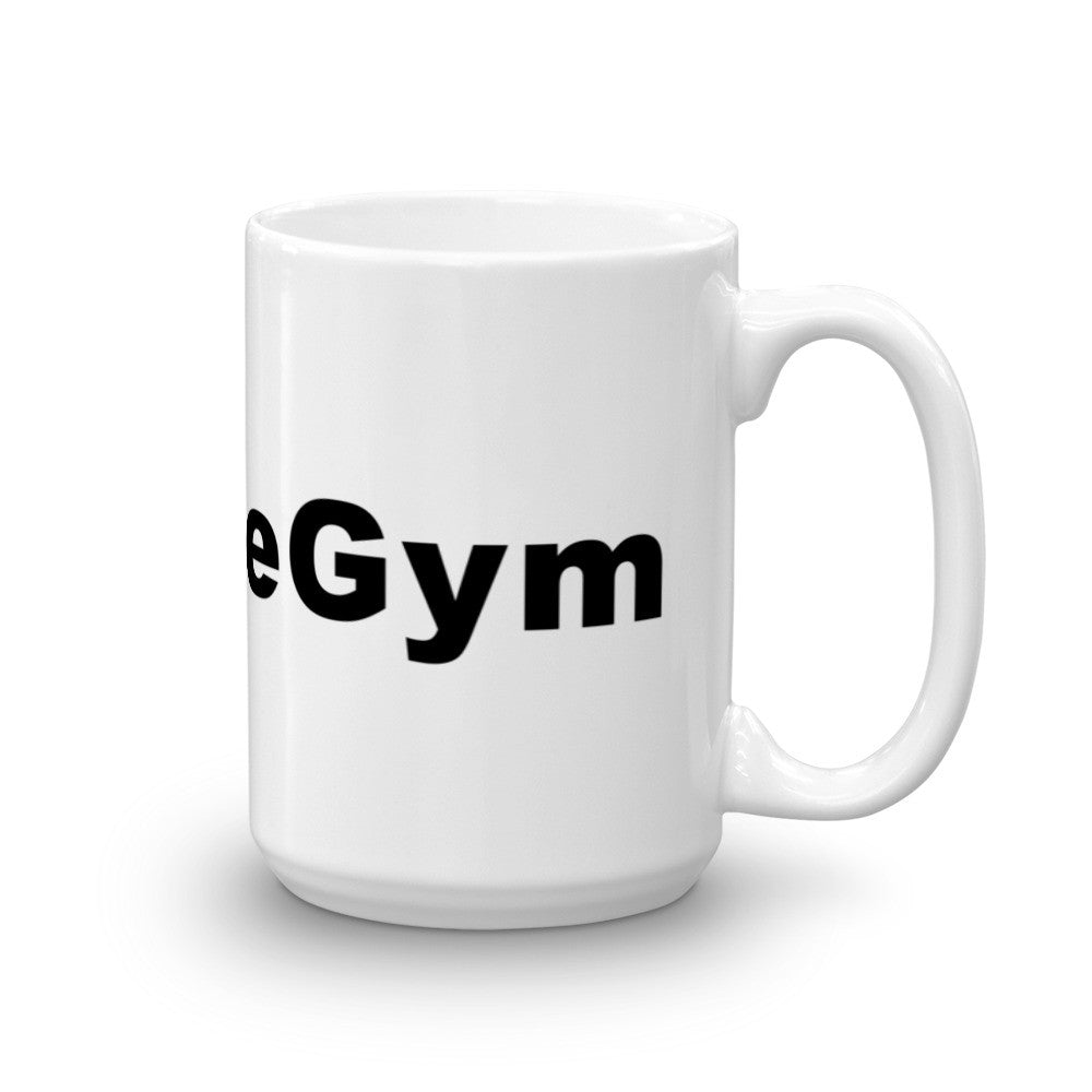 I Love The Gym Hashtag Coffee Mug