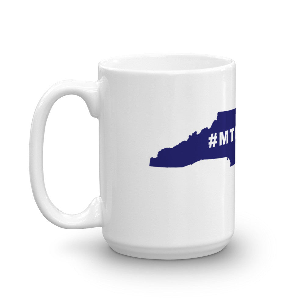 NC Mountain Bike Hashtag Coffee Mug