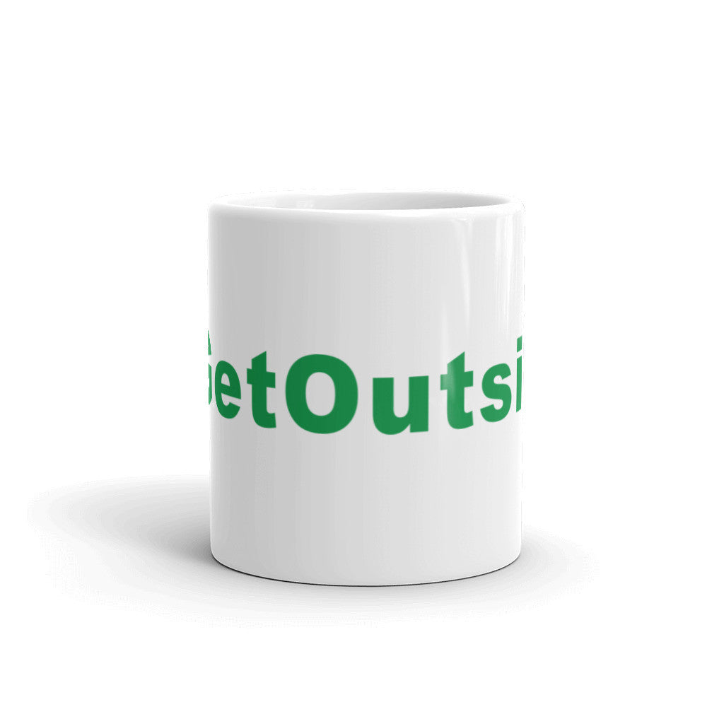 Get Outside Hashtag Coffee Mug