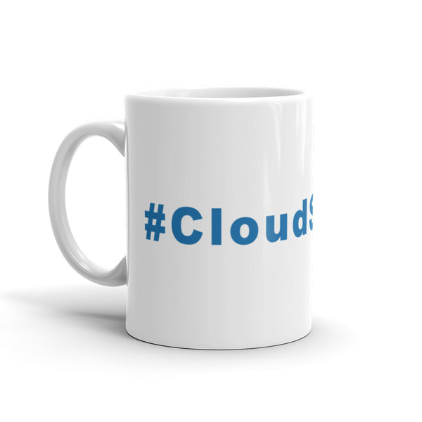 Cloudsurfing Hashtag Coffee Mug