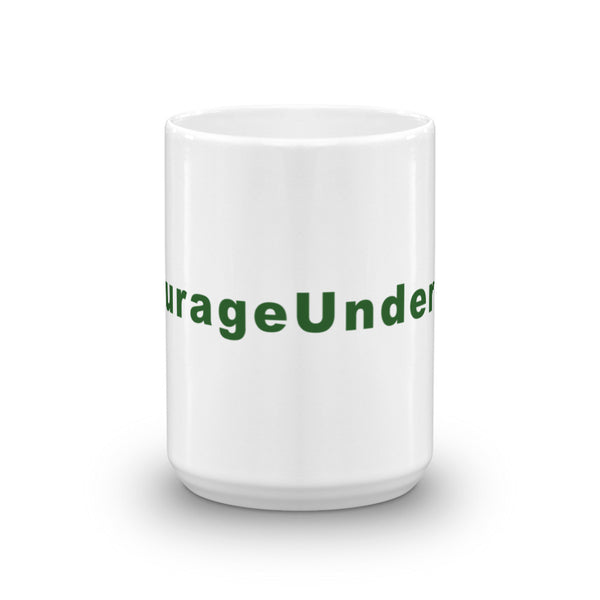 Courage Under Fire Hashtag Coffee Mug