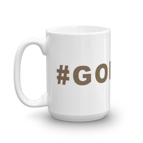 Go Bucs Football Hashtag Coffee Mug Pewter