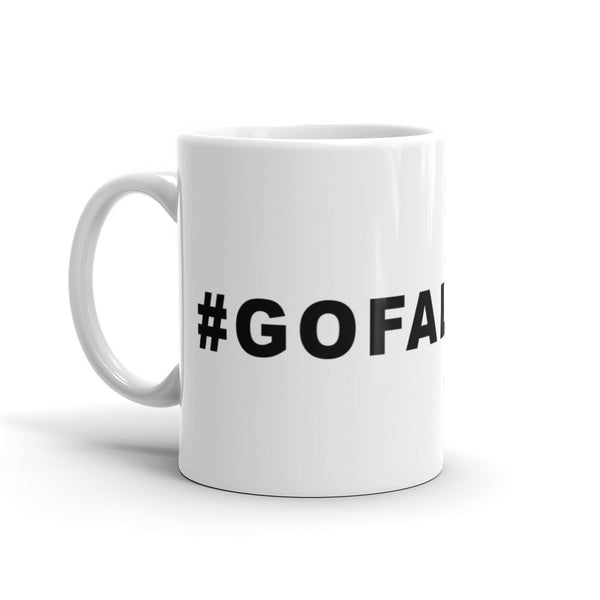 Go Falcons Football Hashtag Coffee Mug Black