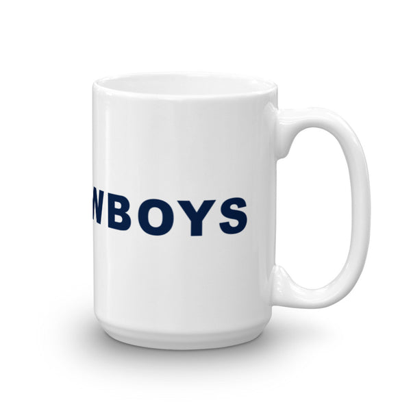 Go Cowboys Hashtag Football Coffee Mug