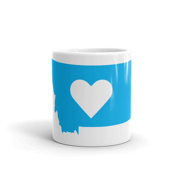Montana Heart Coffee Mug