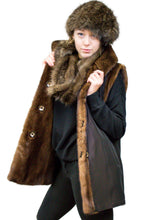 Load image into Gallery viewer, Reversible Mink Vest