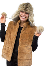 Load image into Gallery viewer, Lynx Fur & Leather Hat