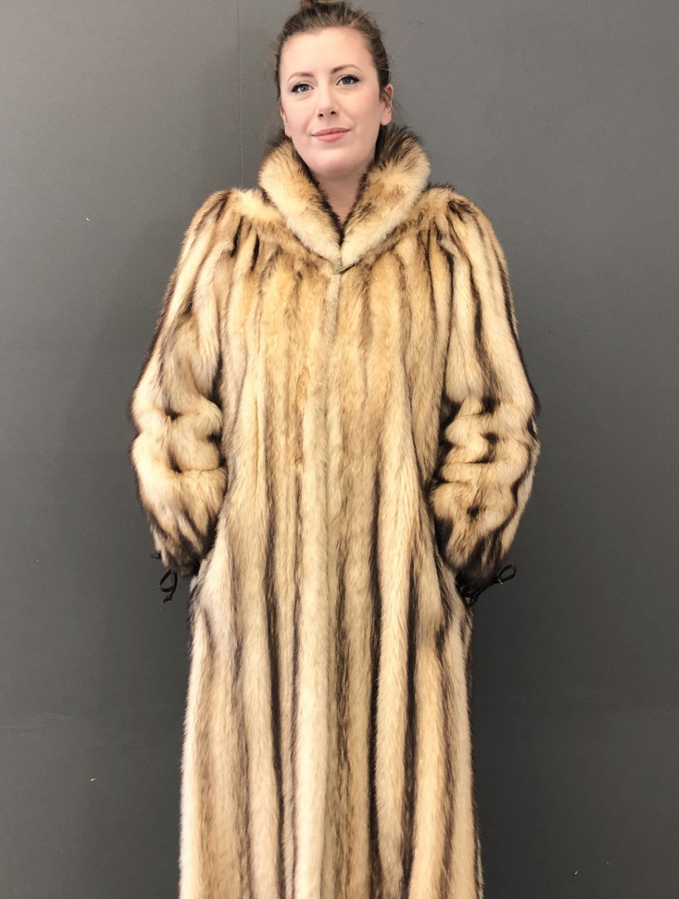 Vintage Russian Fitch Coat