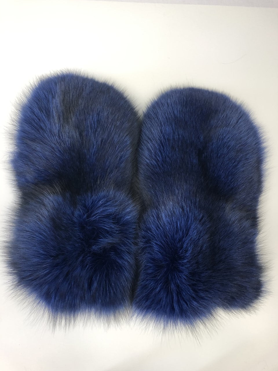FURB Upcycled Fox Mittens with Leather