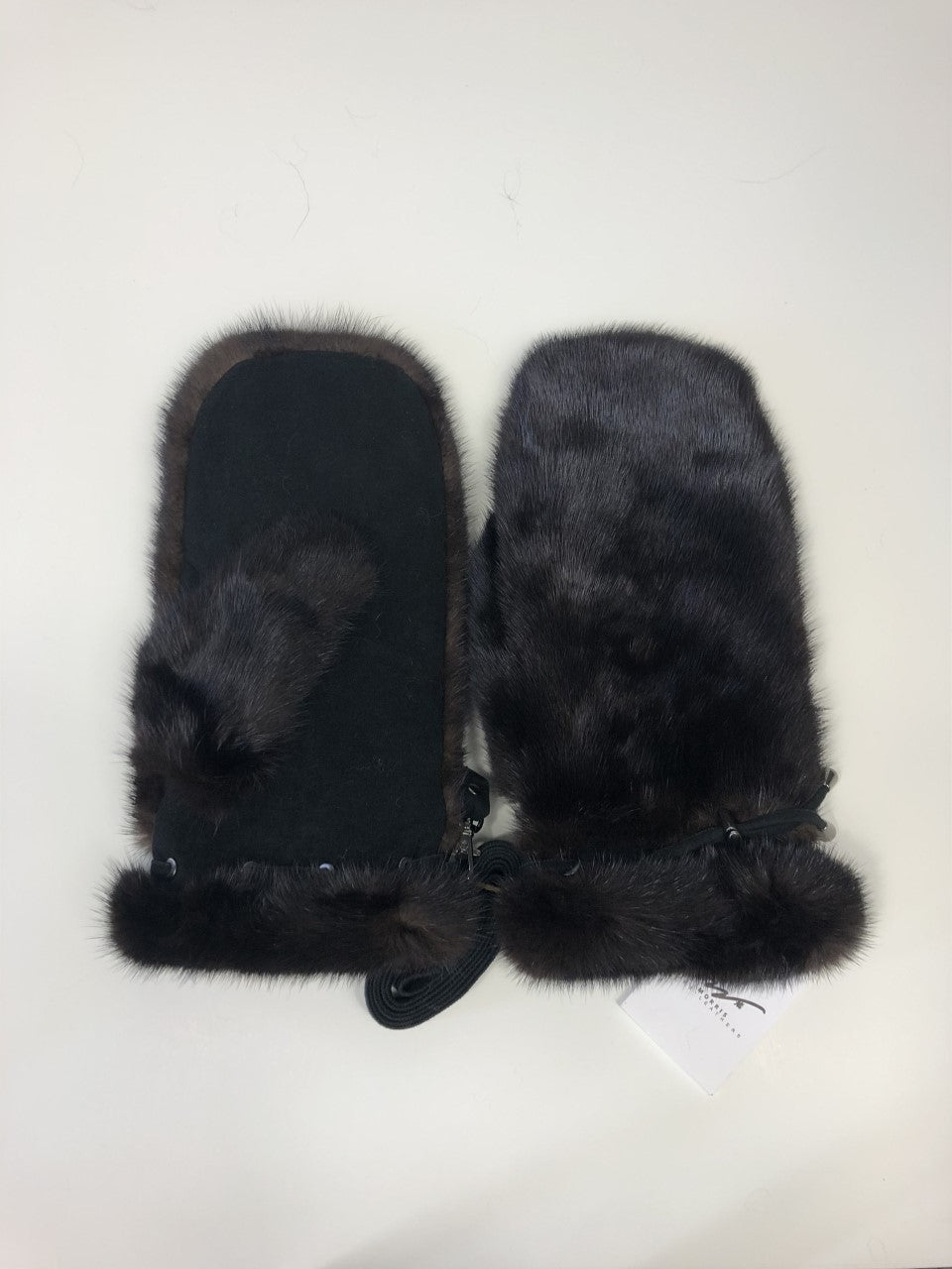 Mink Mittens and Suede