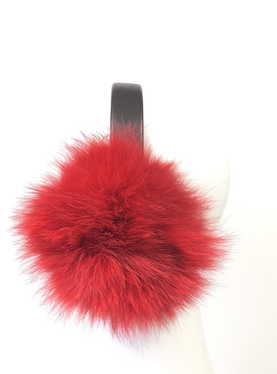 Fox Earmuffs lined with Sheared Beaver