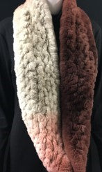 Rex Rabbit Degrade Infinity Scarf