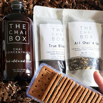 Chai + Biscuits Gift Set for Father's Day [$5 Flat Rate Shipping- US Only]
