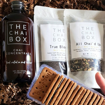 Chai + Biscuits Gift Set
