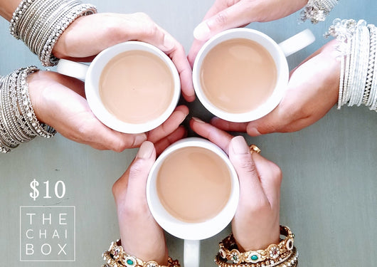 $10 Gift of Chai
