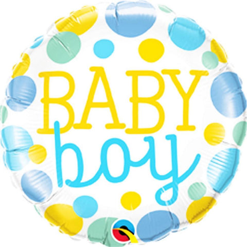 "18"" Helium 'Baby Boy' Balloon"