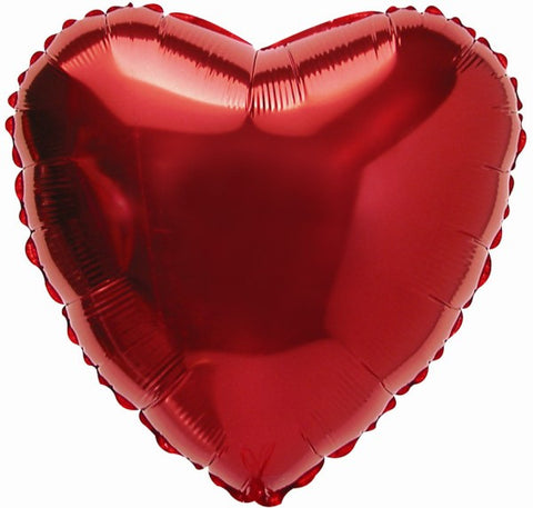 "Air Filled 9"" Heart Balloon"