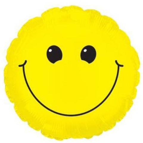 "9"" Airfilled Smiley Face Balloon"