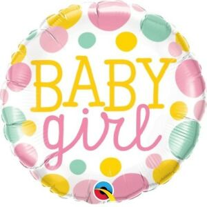 "18"" Helium 'Baby Girl' Balloon"