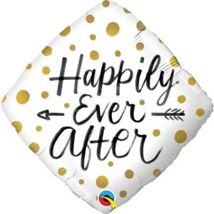 """ Helium 'Happily Ever After' Balloon"