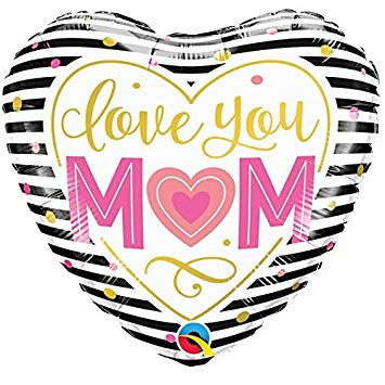 "18"" Helium 'Love You Mum' Balloon"