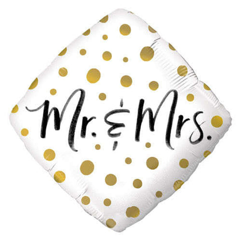 "18"" Helium 'Mr & Mrs' Balloon"