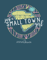 South Carolina Small Town Girl - Short Sleeve
