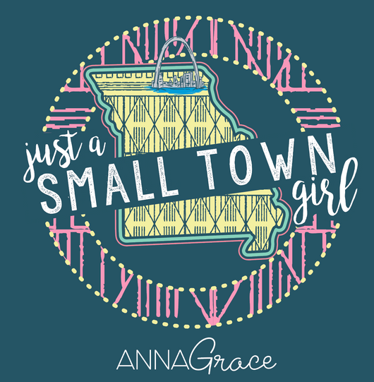 Missouri Small Town Girl - Short Sleeve