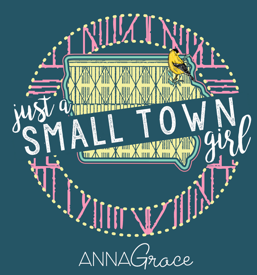 Iowa Small Town Girl - Short Sleeve